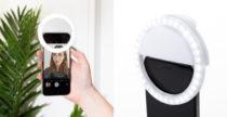 Ultra Bright Selfie Light, lampada fotografica per lo smartphone