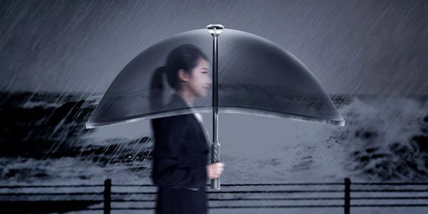 Air Umbrella, l'ombrello gonfiabile