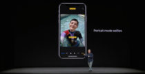 iPhone X ha la fotocamera per i selfie