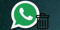 Come cancellare i messaggi di WhatsApp