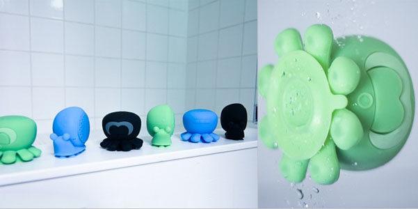 Speaker Creatures, gli altoparlanti da doccia