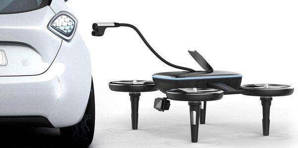 I droni per il rifornimento delle auto