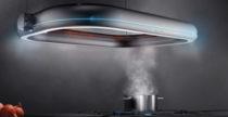 Orbital, la cappa da cucina che sembra un ufo