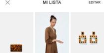 Novità sull'app di Zara: arriva la wishlist