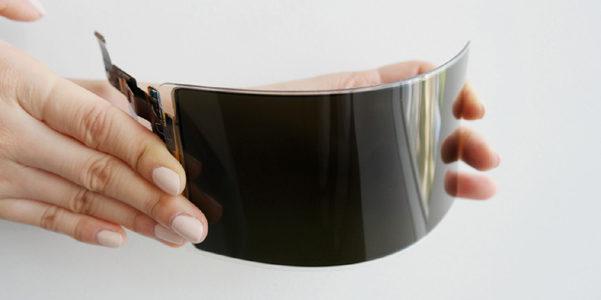 Il nuovo schermo flessibile di Samsung