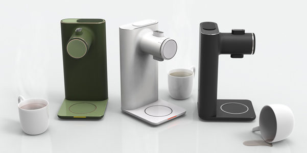 Tea Machine di Elisabeth Morris