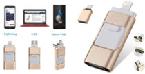 USB 4 in 1 per salvare le foto direttamente dal telefono