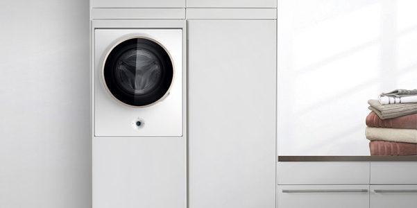 La lavatrice che si appende al muro