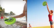 Monta la action cam sul frisbee per raccontare la tua estate