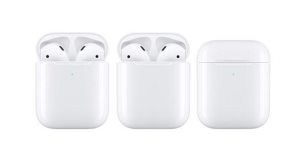 I nuovi AirPods di Apple attesi per il 2019