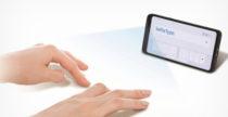 SelfieType, la tastiera invisibile di Samsung