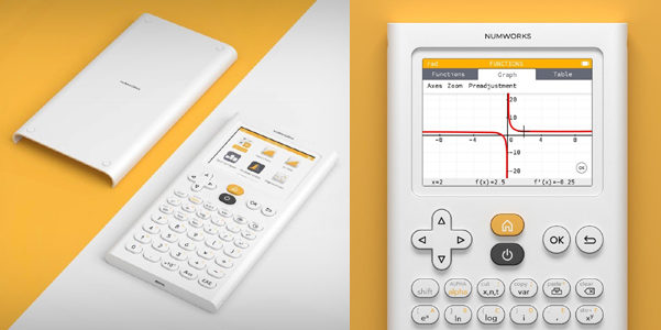 La calcolatrice nerd ma di design