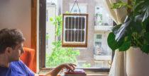 Window Solar Charger, la finestra ti ricarica il device