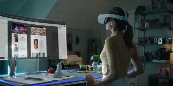 Infinite Office di Facebook, l'ufficio si fa virtuale