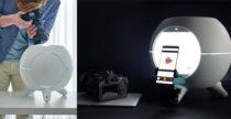 Foldio360 Smart Dome di Orangemonkie