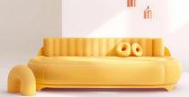 Il divano Dong Dong con massaggiatore incorporato