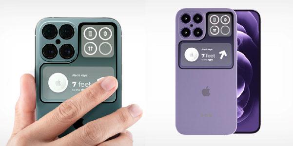 E se l'iPhone 14 avesse il doppio schermo?
