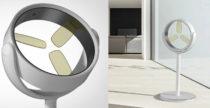 Il ventilatore rotante che ricarichi magneticamente