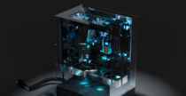 Crystal PC Case Concept, un altro mondo (dentro il tuo computer)