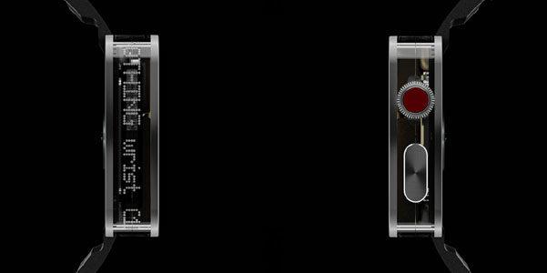 Lo smartwatch trasparente che ti fa sbirciare all'interno